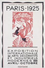 poster of 1925 paris exh