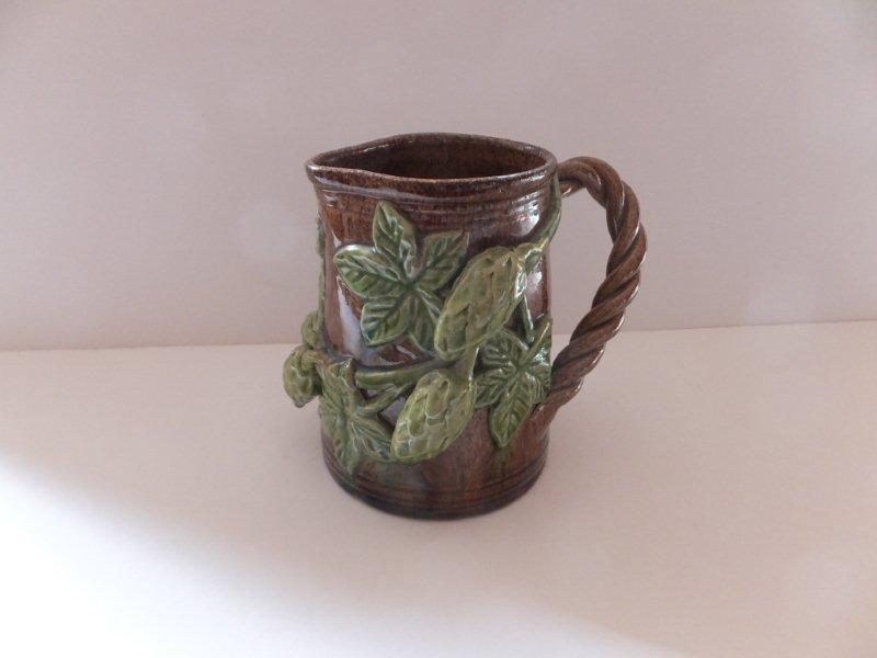 19thC Hopware jug