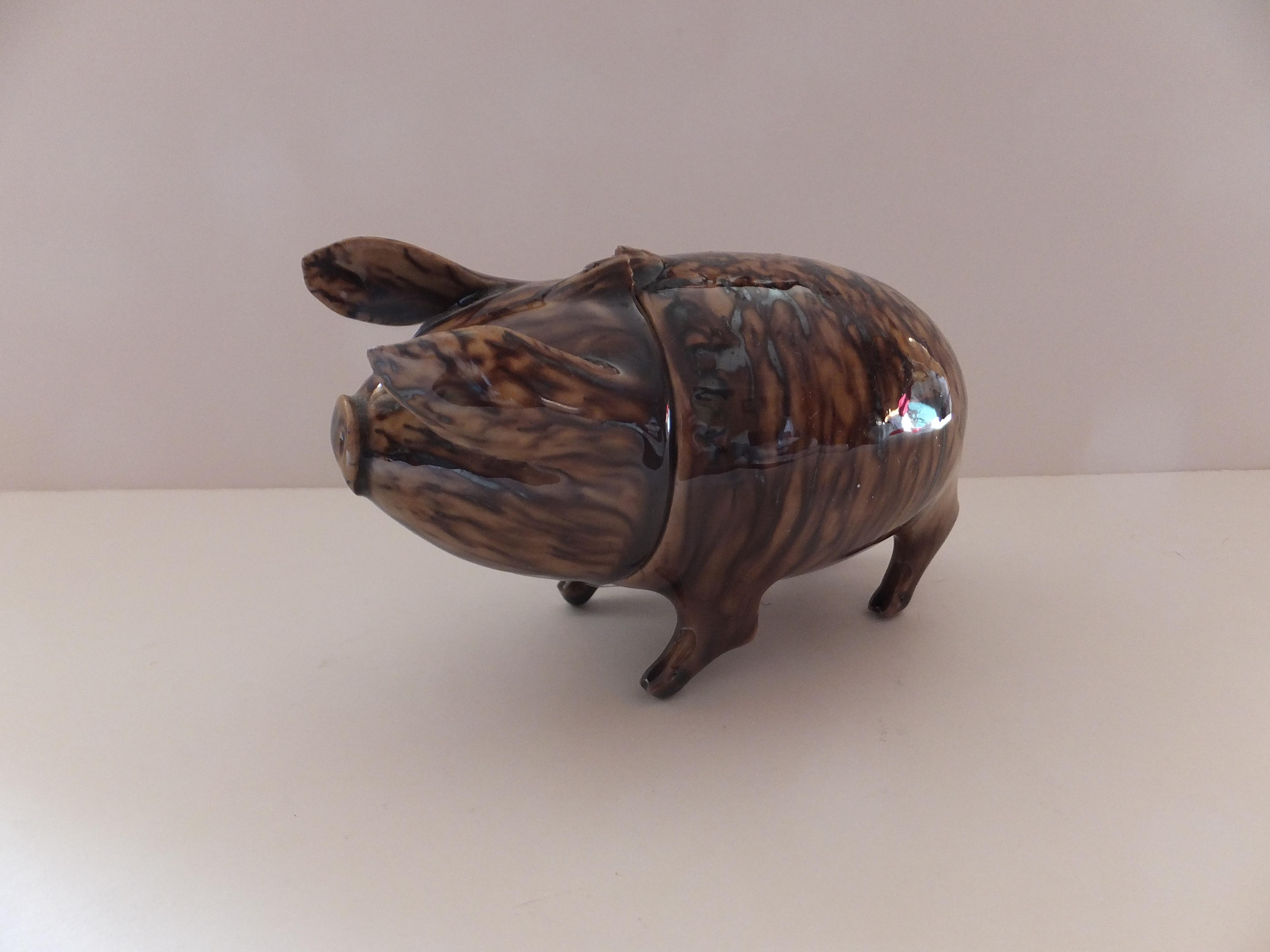 19th C Rye Pig