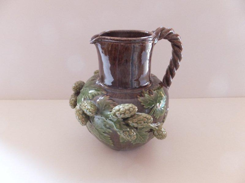 late 19thC or early 20thC hopware jug