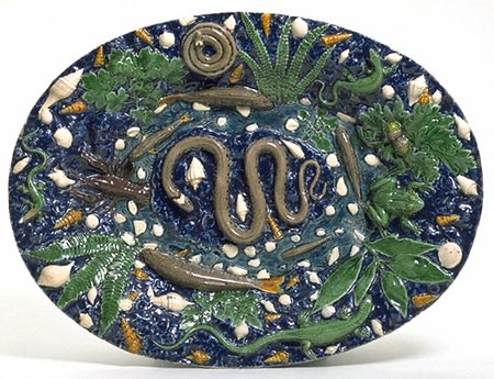 Earthenware Dish by Palissy